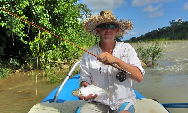 Fly fishing quepos costa rica fishing vacation package for Costa rica fishing vacations