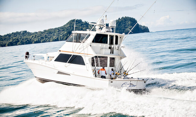 Marlin mania the ultimate fishing trip to costa rica for Costa rica fishing packages