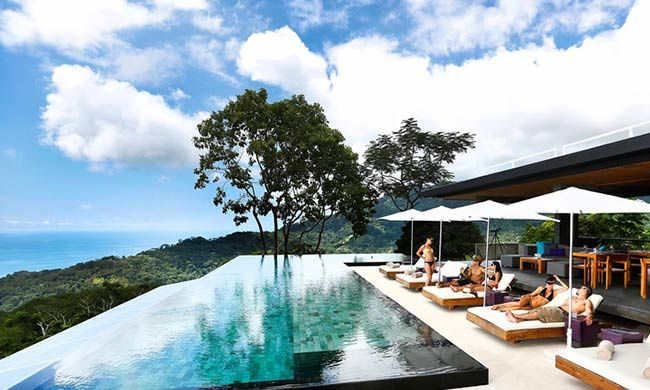 Luxury escape packages to costa rica for Luxury villa costa rica
