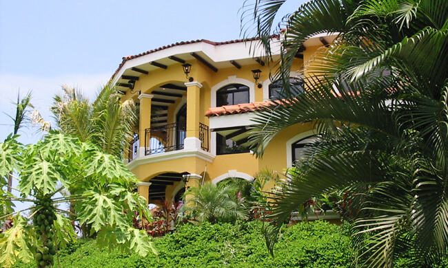 Costa rica rental home casa patron jaco los suenos resort for Costa rica vacation house rentals