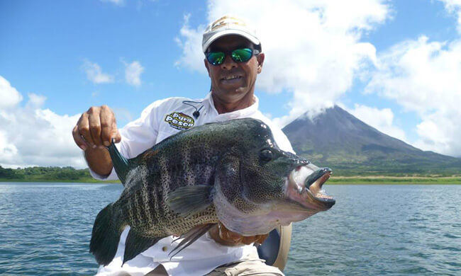 Fishing lake arenal freshwater fishing vacation for Costa rica fishing vacations