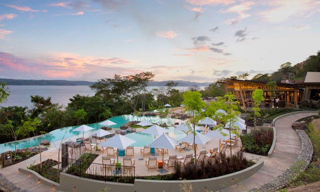 Papagayo luxury hotels andaz papagayo in costa rica for Luxury vacation costa rica