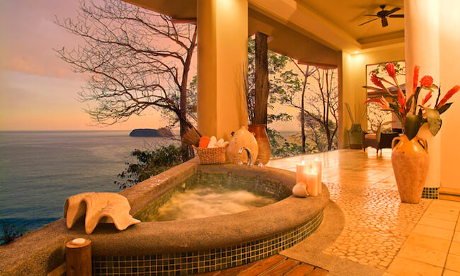 Romantic beachfront romantic costa rica honeymoon for Costa rica honeymoon package