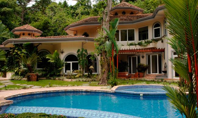 Costa Rica Private Rental Harmon Estate Jaco Beach