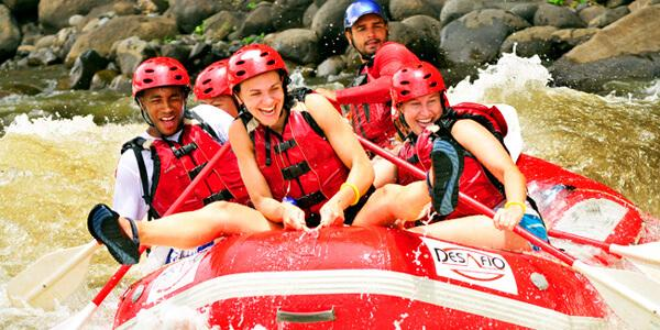 Mambo Combo! Canyon Adventure and Rafting