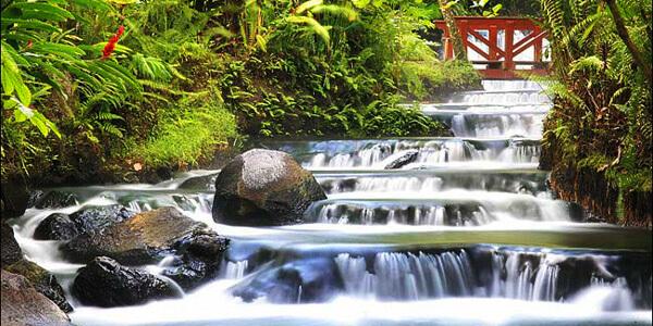 Hanging Bridges & Tabacon Hot Springs
