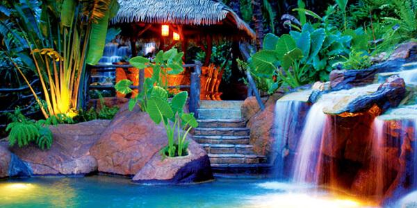 Hanging Bridges & The Springs Hot Springs